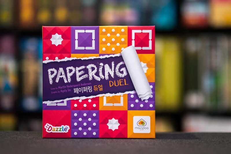 Reseña de Papering Duel