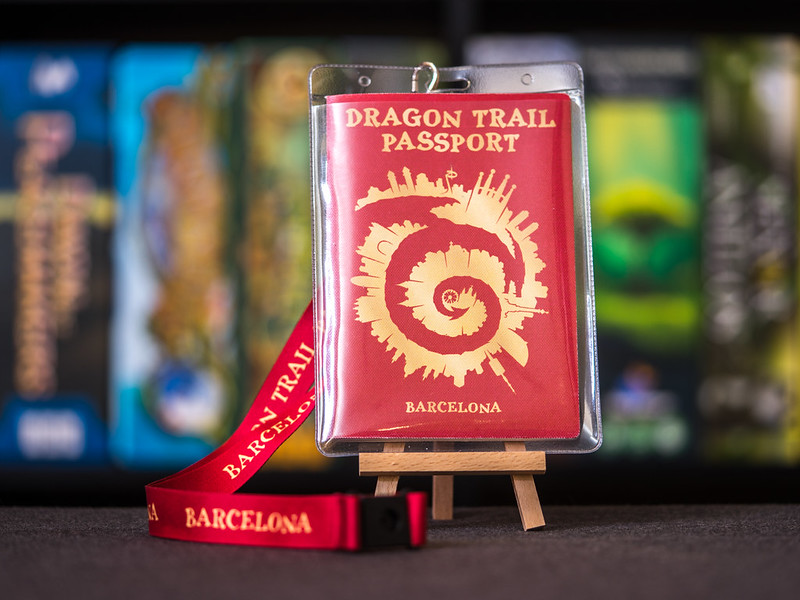 Dragon Trail Passport [Impresiones]
