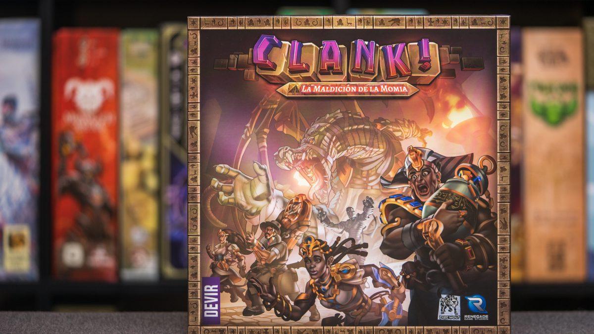 Clank! La maldición de la momia [Reseña de expansión]