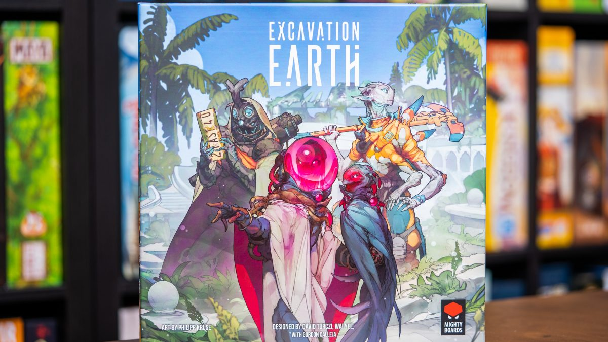 Excavation Earth [Reseña]