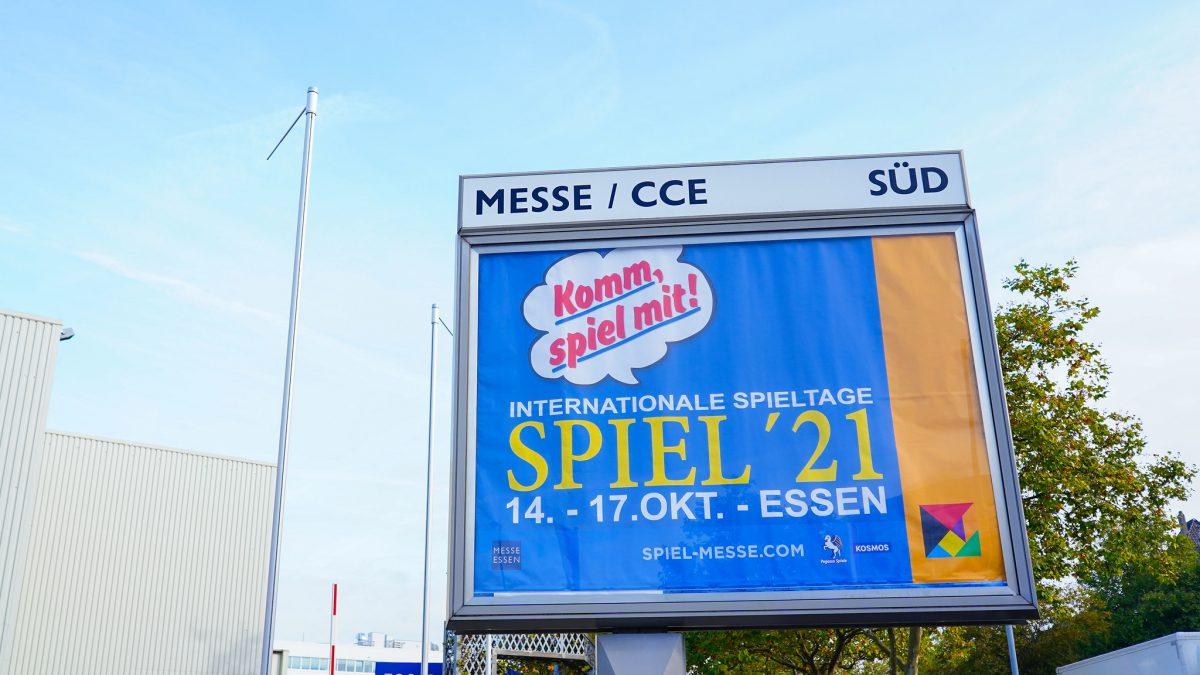 Essen SPIEL '21 – Diario del día 1